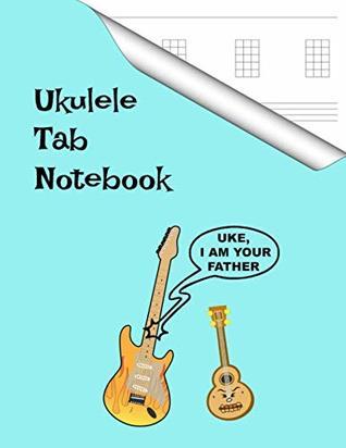 Ukulele Tab Notebook: Blank Uke Tablature Staff Music & Lyrics Manuscript Paper, Songwriting Journal for Musicians, Music Teachers, Students and Artists.