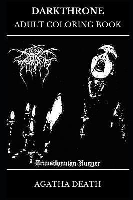Darkthrone Adult Coloring Book Legendary Black Metal Band