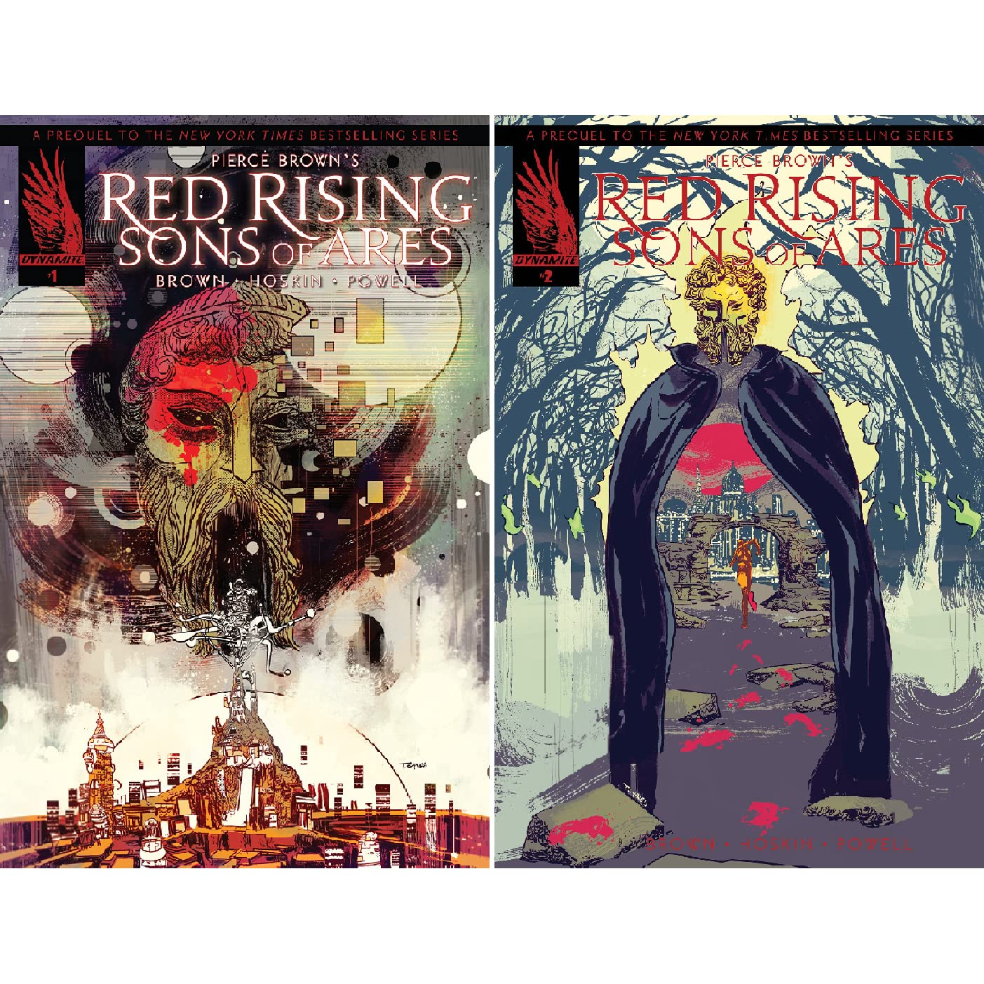 Pierce Brown's Red Rising: Sons Of Ares (Issues) by Pierce Brown