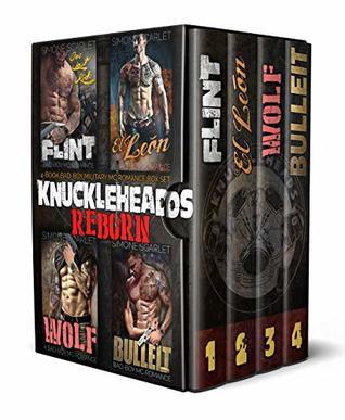 The Knuckleheads: REBORN 4-Book MC Motorcycle Club Romance Bundle: Flint / El León / Wolf / Bulleit