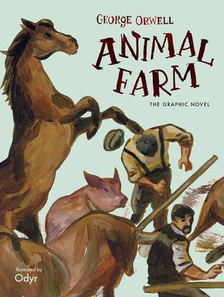 Animal Farm graphic novel cover by Odyr
