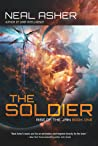 Book cover for The Soldier (Rise of the Jain #1)