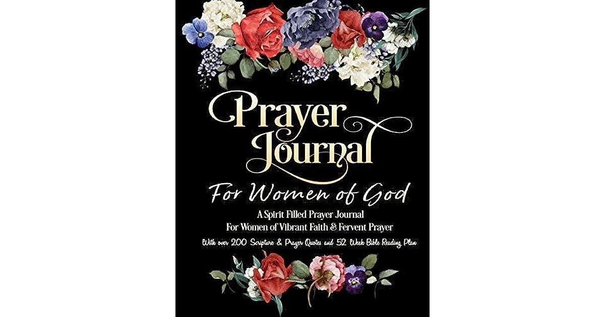 Prayer Journal For Women of God - A Spirit Filled Prayer