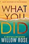 What You Did (Eva Rae Thomas Mystery, #2)