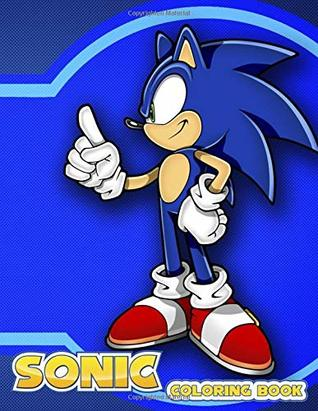Sonic Coloring Book Coloring Book For Kids Aged 3 8
