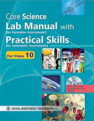 Core Science Lab Manual with Practical Skills as Per CCE X by Editorials