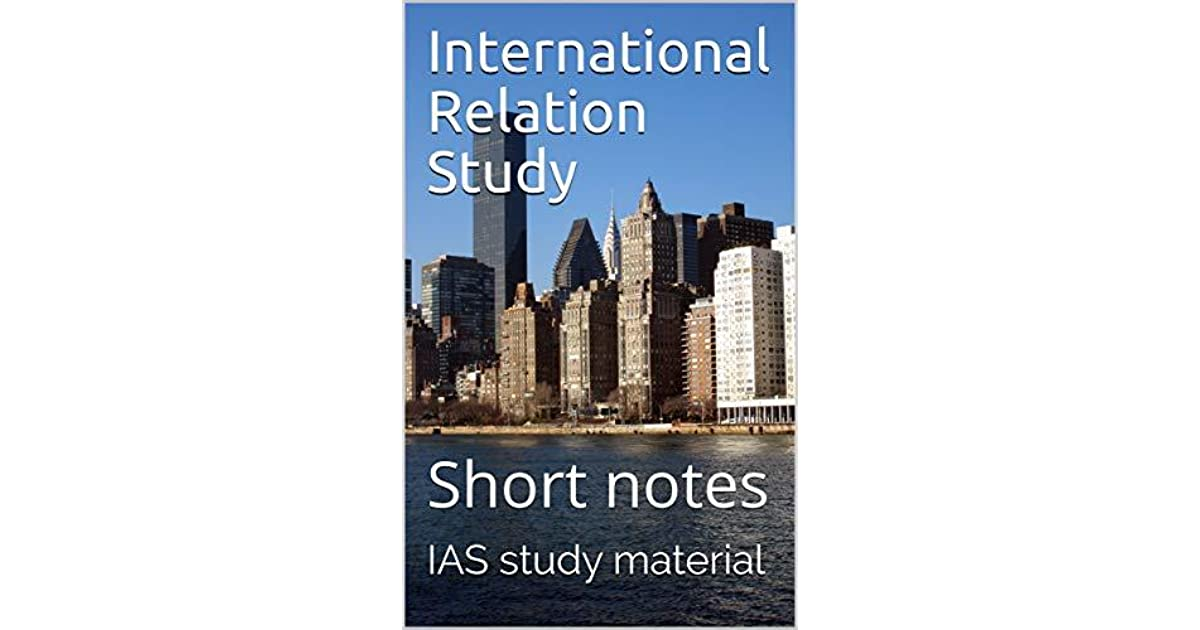 International Relation Study by Vision IAS