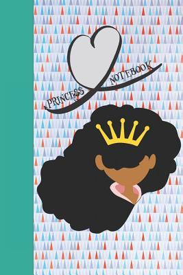 Princess notebook: Afro Girl Notebook (Journal, Diary). Composition Book College Ruled Lines Paper. 6x9 110 pages (60 sheets). Gift for Beautiful African American Black Women and Girls. Ideal for School and Work. Peek a boo, curly girl, brown girl.