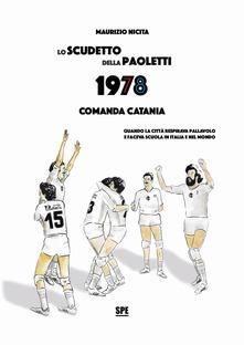 Lo scudetto della Paoletti 1978