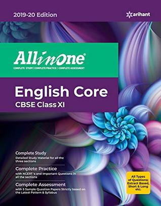CBSE All In One English Core Class 11