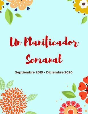 Calendario 2020 16.Planificador Semanal Septiembre 2019 Diciembre 2020 16