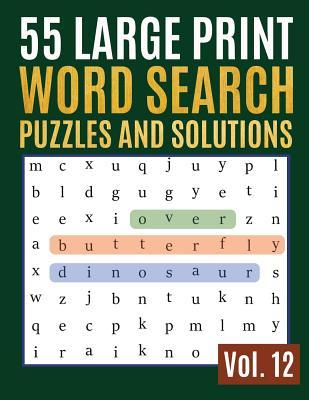 photograph about Printable Word Searches for Adults Large Print identify 55 Substantial Print Phrase Glimpse Puzzles And Products and services: Video game