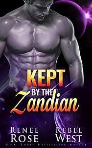 Kept By The Zandian (Zandian Brides, #5)