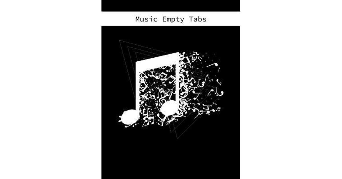 Music Empty Tabs: Blank Guitar Tabs Sheet Music Musician's
