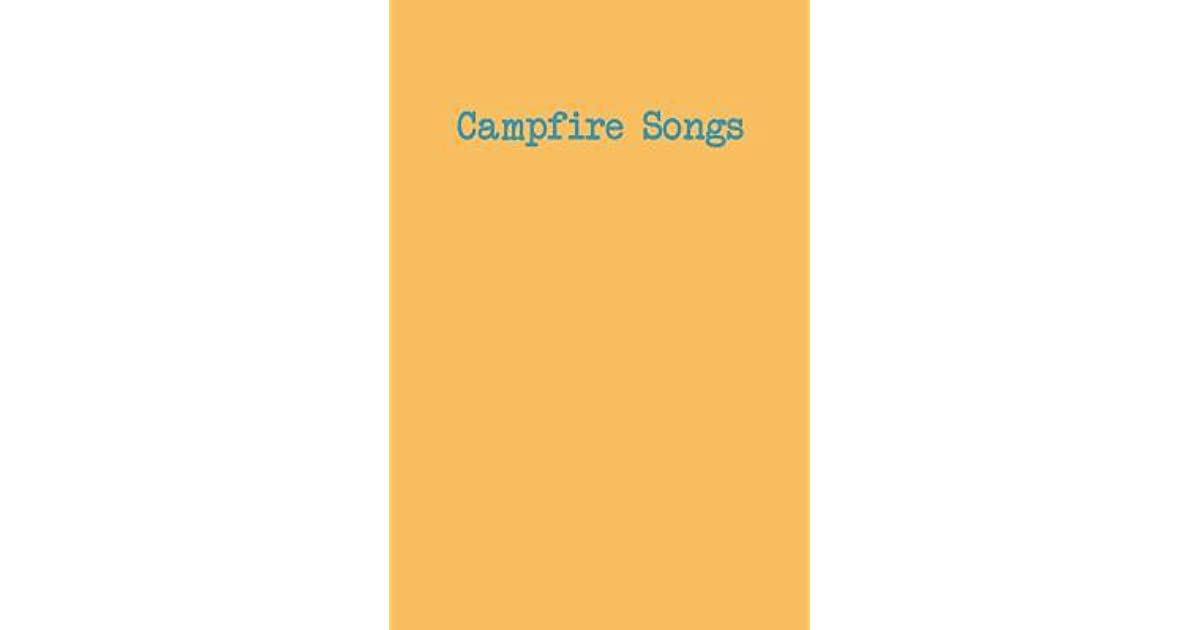 Campfire Songs: Notebook with Combination of Lined and Blank Guitar