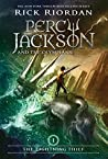 Book cover for The Lightning Thief (Percy Jackson and the Olympians, #1)