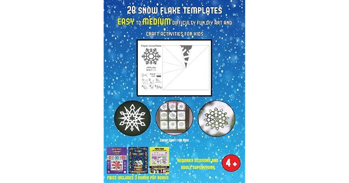 Cheap Craft For Kids 28 Snowflake Templates Easy To