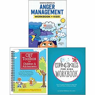 Cbt Toolbox For Children And Adolescents Spiral Bound Anger Management Workbook For Kids Coping Skills For Kids Workbook 3 Books Collection Set By Lisa Phifer
