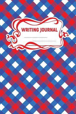 picture about Red and Blue Lined Handwriting Paper Printable named Crafting Magazine: A 6x9 Inch Matte Softcover Paperback