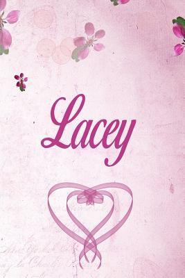 Lacey: Personalised Name Notebook/Journal Gift For Women
