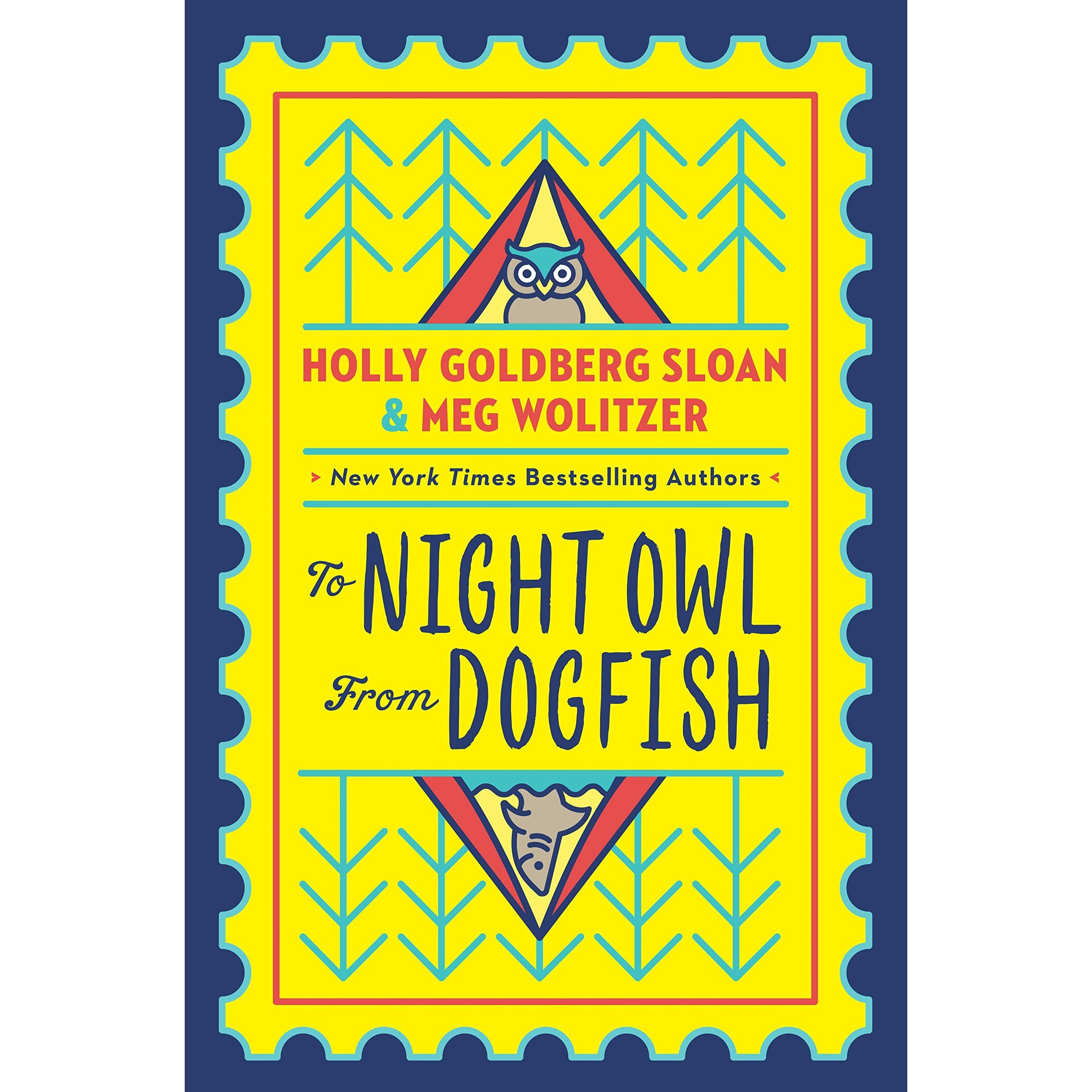 Night Owls May Face Special Challenges >> To Night Owl From Dogfish By Holly Goldberg Sloan