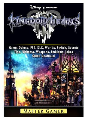 Kingdom Hearts III 3 Game, Deluxe, PS4, DLC, Worlds, Switch