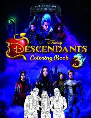 Descendants 3 Coloring Book: Unofficial Descendants 2019
