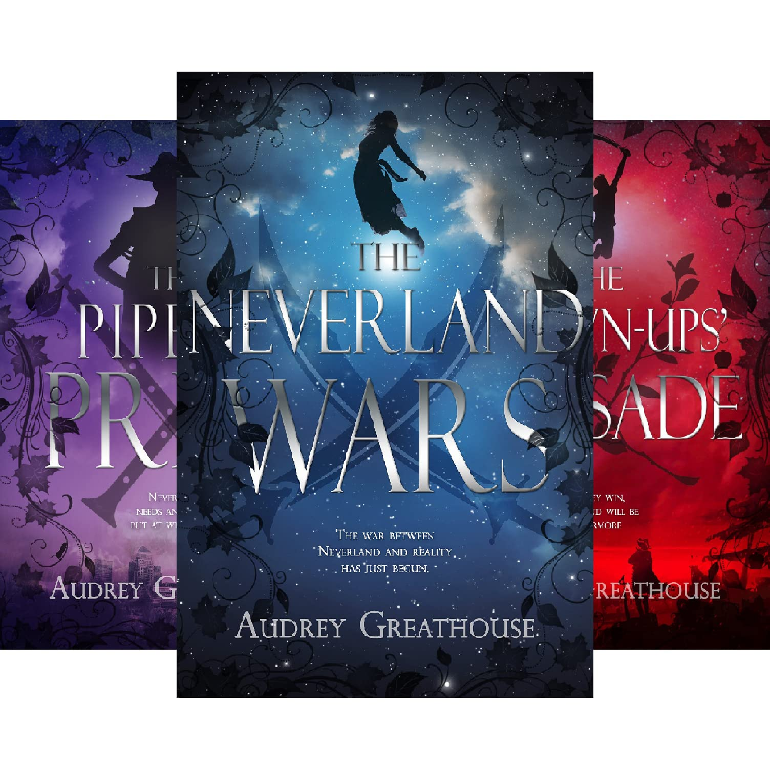 Groovy The Neverland Wars 3 Book Series By Audrey Greathouse Interior Design Ideas Grebswwsoteloinfo