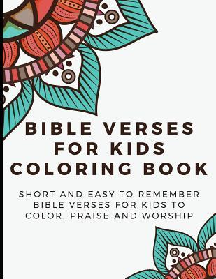 Bible Verses For Kids Coloring Book Short And Easy To