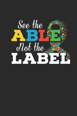 See The Able Not The Label: journal or notebook with quote ...