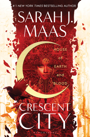 House of Earth and Blood by Sarah J Maas Book Cover