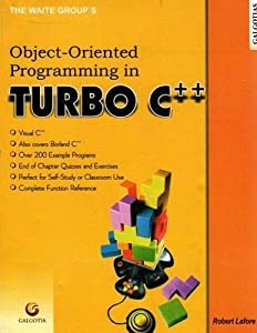 Object Oriented Programming in Turbo C++