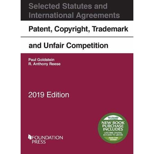 Patent, Copyright, Trademark and Unfair Competition