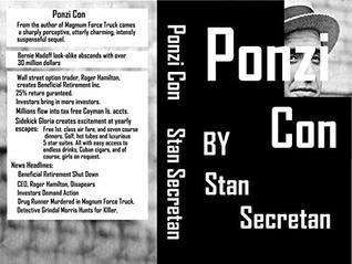 Ponzi Con by Stanley Secretan