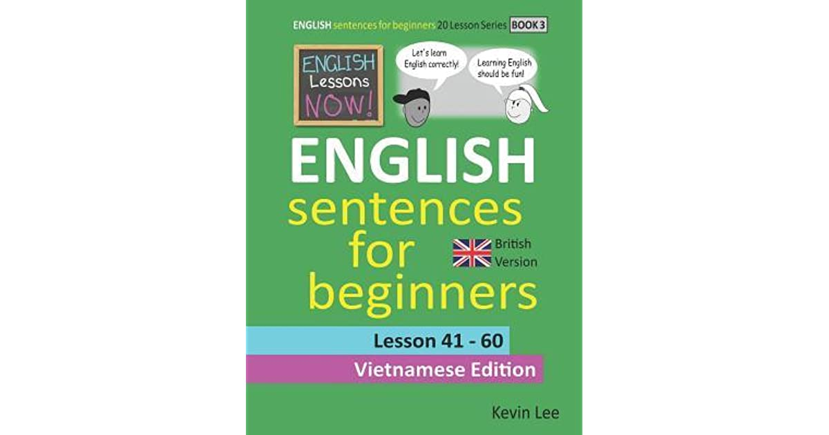 English Lessons Now! English Sentences For Beginners Lesson