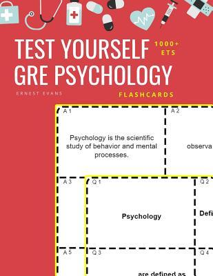 Test Yourself 1000+ ETS GRE Psychology Flashcards: Study ETS GRE