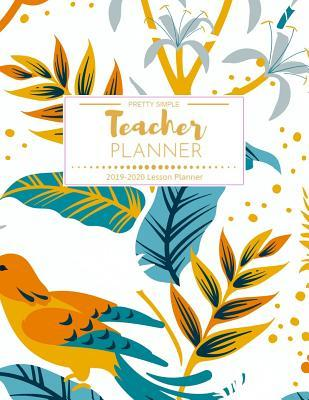 graphic about Teacher Plan Books identified as Trainer Planner Really Very simple 2019-2020: Weekly and Regular