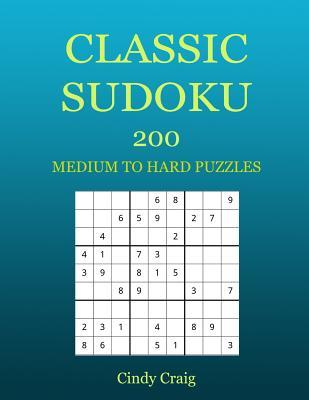 photograph about Sudoku Printable Grid identified as Clic Sudoku: 200 Medium towards Challenging Puzzles, Substantial Print