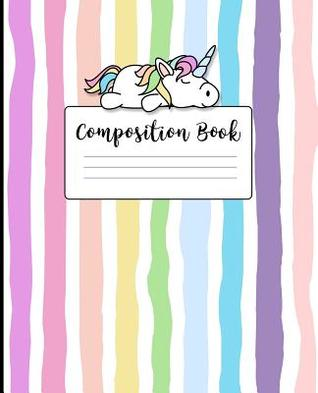 Composition Book: Wide Ruled Line Paper Composition Notebook