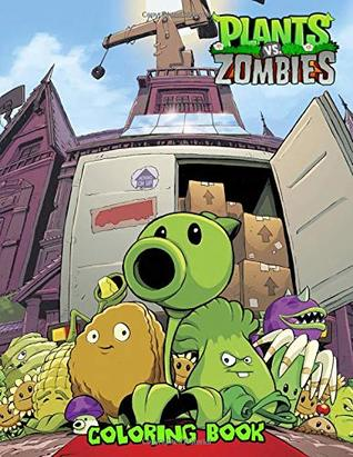 Plants Vs Zombies Coloring Book Great Coloring Book Jumbo For Kids By Royana James