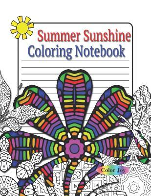 Summer Sunshine Coloring Notebook by Color Joy