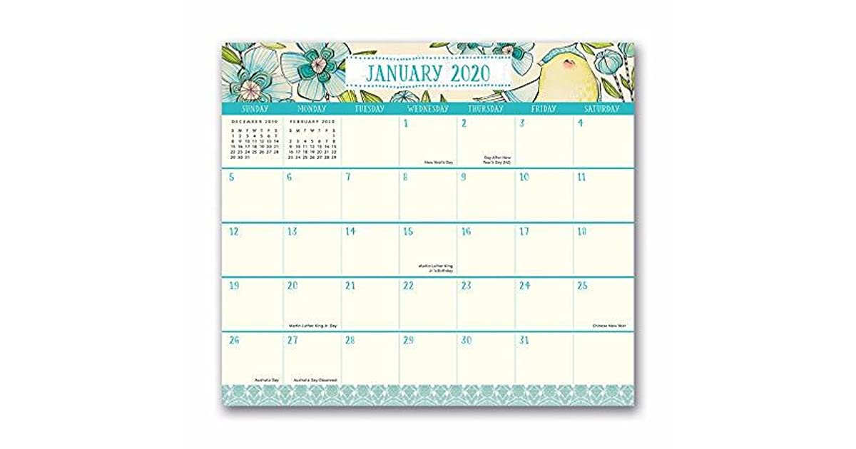 Calendar December 2020.Orange Circle Studio 2020 Magnetic Monthly Calendar Pad August 2019