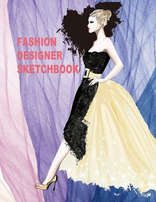 Fashion Designer Sketchbook 430 Perfect Female Figure Models For 12 Different Poses Template Will Easily Create Your Fashion Styles By Not A Book