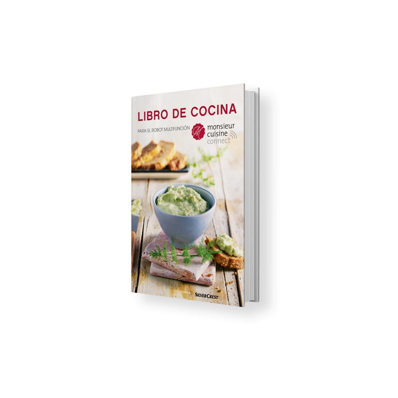 Libro De Cocina Para Robot Multifunción Monsieur Cuisine