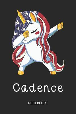 Cadence - Notebook: Blank Lined Personalized & Customized