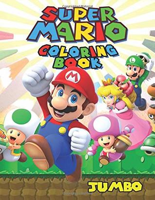 Super Mario Coloring Book: Super Mario Jumbo Coloring Book With ...   411x318