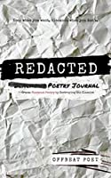 Redacted Poetry Journal: Create Blackout Poetry by Destroying the Classics