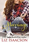 Rhett's Make-Believe Marriage (Seven Sons Ranch in Three Rivers Romance #1)