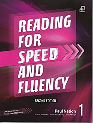 Reading for Speed and Fluency 1, Second Edition Student Book by