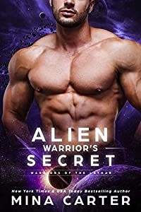 Alien Warrior's Secret (Warriors of the Lathar, #9)